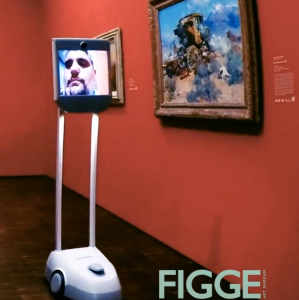 "Art, Music and a Robot: Inspirational Quad Cities Program Brings Cancer Patients to the Figge Art Museum on a Beam named ""Genie"""