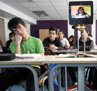 New York Times Upfront Features How Beam Helps French High Schooler Attend Class